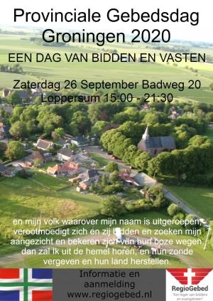 Provinciale Gebedsdag 26 September